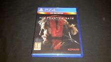 METAL GEAR SOLID V THE PHANTOM PAIN-PS4-Sony Playstation 4 GAME-DAY ONE ED