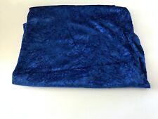 Azul Marino Oscuro Medianoche Minky punto hoyuelo abrazo Coser Tela del edredón 30x36 Pieza De Corte