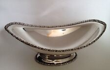 Antique Bernard Rice's Sons Silverplate Bread Serving Bowl. Gorgeous!