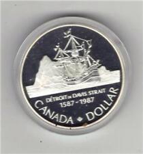 1987 SHIP  silver dollar  box w/COA **** great gift *****