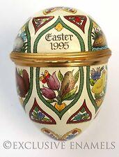 Halcyon Days Enamels Easter Egg 1995 Enamel Egg
