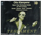 Bach: 4 Orchestral Suites; Handel, Rameau, Gluck, Cherubini / Otto Klemperer CD