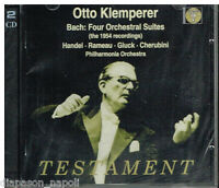 Bach: 4 Orchestral Suites; Händel, Rameau, Gluck, Putten / Otto Klemperer CD