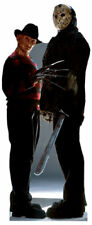 Freddy Krueger Vs Jason Voorhies Lifesize Standup Standee Cutout Friday The 13Th