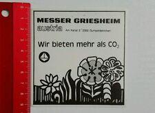 Aufkleber/Sticker: Messer Griesheim austria (070516106)