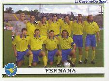 649 CALCIO FERMANA TEAM SQUADRA ITALIA  STICKER CALCIATORI 2002 PANINI