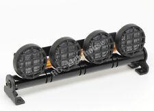 RC LED Light bar with White Lenses - 5 flashing modes - Aluminum - FZ White RD