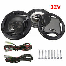 2x 6.5'' Coaxial Car Audio Stereo Speakers Component 90DB 400W 4-Way Subwoofer
