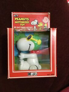 Peanuts Snoopy Motorized Toy Vintage