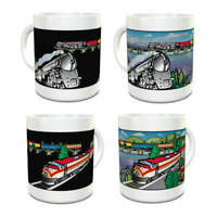 Wondermugs Color Changing Trains Coffee Cup Mug