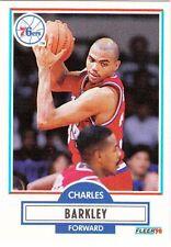 CHARLES BARKLEY 1990-91 FLEER # 139
