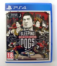SPEEPING DOGS DEFINITIVE EDITION (+24 DLC) Jeu / Game for Sony PS4 Playstation 4