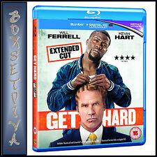 GET HARD - Will Ferrell  *BRAND NEW BLU-RAY REGION FREE*