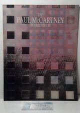 """1990 Paul McCartney """"FRIENDS OF THE EARTH"""" program w/ 7/11/90 ticket stub.***"""