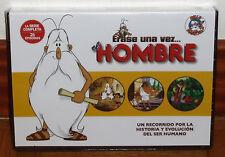 ERASE UNA VEZ EL HOMBRE LA SERIE COMPLETA 5 DVD PRECINTADO ANIMACION (SIN ABRIR)