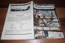 FLIEGERGESCHICHTEN  # 139 -- die POST MUß DURCH //  Moewig 1. Auflage 1959
