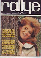 rallye - numero 58 - sheila 1964 -