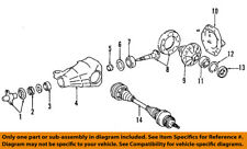 Lexus TOYOTA OEM 10-14 IS F Rear-Axle Differential Pumpkin Cover 4110853050