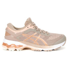 ASICS Women's Gel-Kayano 26 Fawn/Rose Gold Running Shoes 1012A457.701 NEW