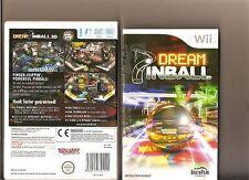 DREAM PINBALL 3D NINTENDO WII 6 TABLES