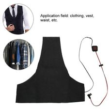 Electric Heating Vest Heated Pad Cloth Jacket Winter Warmer 5V USB Charger Black