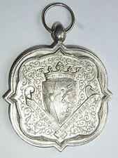 09B14 ANCIEN MÉDAILLE ARGENT PRIX AGRICOLE WEST VLAANDEREN 1897 BELGIE BELGIQUE