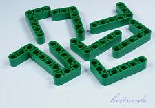 LEGO Technik - 8 x Liftarm dick 3x5, 90 Grad grün / Green Liftarm  32526 NEUWARE