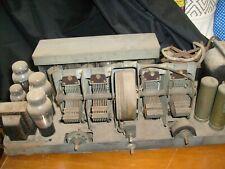 1931 Philco High Boy Superheterodyne Model 112 Console Radio Tube Chassis