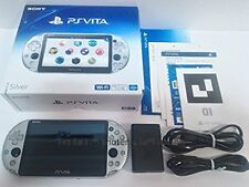 PlayStation Vita Wi-Fi Model Silver PCH-2000ZA25 Used Excellent Condition
