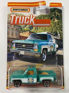 2021 Matchbox Truck Series 1975 Chevy Stepside Pickup 3/12 BNIB Sealed New
