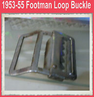 Corvette 1953 1954 1955 Footman Loop Original Buckle Convertible Top Strap One
