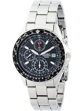 SEIKO SND253P1,Men's chronograph,stainless steel case and bracele,100m WR,SND253