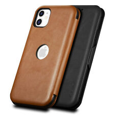 For iPhone 11 Pro Max Thin Case Leather Wallet Slim Card Holder Magnetic Cover