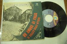 """I MONELLI DI ROMAGNA""""UN AMORE DI PAESE-disco 45 giri IA 1976"""" FOLK Romagnolo"""