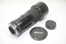 Nikon Ai-S Nikkor ED 300mm F/4.5 MF Lens Made In Japan