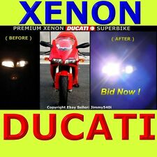 *XENON* (Low/Highbeam) for Ducati 996 / 748 / 998 / 916 *HID GLARE* by Jimmy540i