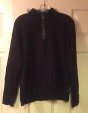 NWD-HUGO BOSS Sidney Quarter Zip Pullover Men's Size L  Msrp: $145