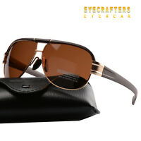 Mens Outdoor Sport UV400 Fashion Eyewear Brand Driving Polarized Sunglasses New