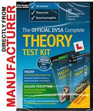 DVSA Complete Theory Test Kit DVD-ROM for PC & Mac/Car Theory& Hazard Test-Kit