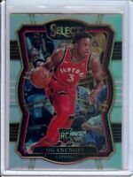 OG Anunoby 2017-18 Panini Select RC Rookie Silver Prizm  #134