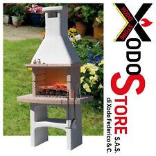 Barbecue in muratura a legna SUNDAY modello TOUAREG BIO CRYSTAL - occasione BBQ