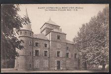 France Postcard - Saint-Germaim-Au-Mont-d'O r (Rhone) - Le Chateau A2783