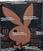 1995 PLAYBOY 40 Years Covers Trading Card Chrome Series 2 Box (24 pks)-RARE BOX!