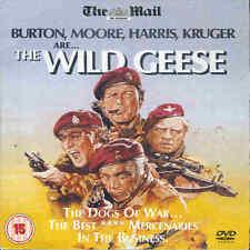 THE WILD GEESE - Richard Burton, Roger Moore, Richard Harris ----DVD----