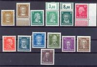 DR 385-97 Berühmte Deutsche postfrisch komplett (ts221)