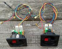 Set of 2 Vintage FISHER Model STV- 725 Stereo Speaker 3-Way CROSSOVERS w/WIRING