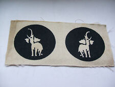 British Issued Collectable WWII Military Patches