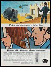 Publicité GIMM  vintage print ad  1965 -4i