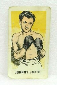 JOHNNY SMITH  Nº 4 1950's Kiddy's Favourites ORIGINAL BOXING CARD