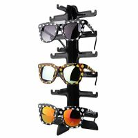 5/6/10Pairs Sunglasses Glasses Eyeglasses Display Rack Holder Frame Stand SY